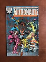 Micronauts #38 (1982) 9.2 NM Marvel Key Issue Bronze Age Comic Book High Grade