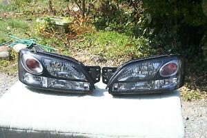 Subaru Liberty Legasy Outback BH Headlights (NON HID) Pair Japan