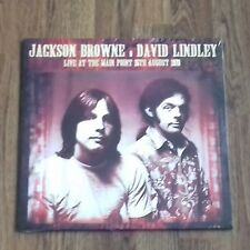JACKSON BROWNE DAVID LINDLEY - LIVE AT THE MAIN POINT 1973 NEW 2x180g LP SEALED