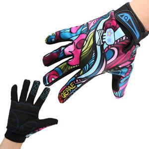 MTB Gloves anti slip Full Finger Gloves breathable bicycle gloces