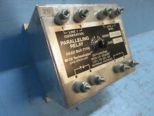 CII Technologies Wilmar 1810DBX Paralleling Relay Dead Bus Type 120V