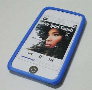 Soft Silicone Case For Apple Ipod Touch 2 (L Blue)