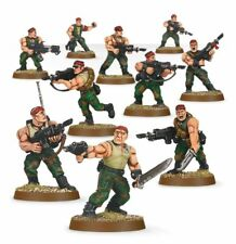 Warhammer 40k Imperial Guard Catachan Jungle Fighters NIB