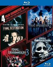 Final Destination Collection: 4 Film Favorites (Blu-ray Disc, 2014, 4-Disc Set)