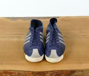 Adidas Italia  Blue Leather Sneaker Rare Women  US Size 7