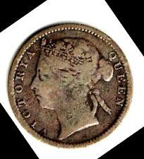 MAURITIUS - 20 CENTS, 1899 - SILVER (.800, .0600 OZ. ASW)
