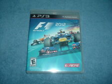 SONY PLAYSTATION 3 PS3 F1 FORMULA 1 2012 RACING CIB TESTED WORKS MINT VIDEO GAME