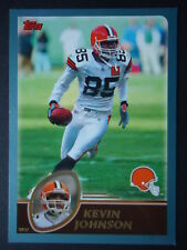 NFL 129 Kevin Johnson Cleveland Browns Topps 2003