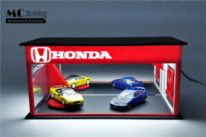 MC Hobby 1/64 Diorama Acrylic Car Model Scenery Box with LED USB Connect-Honda