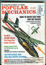 Popular Mechanics Magazine January 1968 O-2 $50,000 Fighter VG 040116jhe