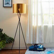 Versanora Cara Tripod Floor Lamp in Gold