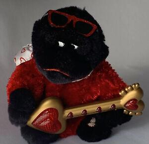 "DAN DEE Singing Animated Plush Gorilla ""Wild Thing"" Sings Moves Lights up"