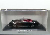 Minichamps Dealer Edition 1955 Mercedes Benz 190 SL W121 Black 1:43