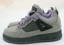 Air Jordan IV Size 4Y Cement Gray Purple Retro Nike Basketball Shoes Sneakers