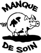 """Tampon - Appéciation AP 81  """"  Manque de soin """" petit cochon"""