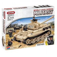 Oxford Military World War Series Panther Tank Brick Block Toy Kid OM33014 658PCS