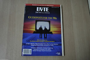 Byte Extra Issue : IBM Special Edition 01/1991 Guideposts for the 90s Magazine !