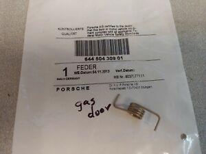BRAND NEW GENUINE PORSCHE 356B T-6 356C 356SC FUEL FILLER DOOR RELEASE SPRING
