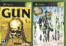 Video Game Lot - CLASSIC FPS 2-PACK - Gun / Halo: Combat Evolved - Xbox
