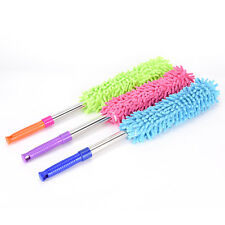 Practical telescopic extendable Duster of microfiber brush of cleaning of dustS6