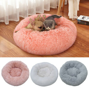 Soft Plush Dog Bed Sofa Washable Pet Cat Puppy Sleeping Kennel Cushion Mat Nest
