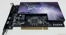 Razer Barracuda AC-1 Gaming Audio Card, 7.1 Channels, PCI, S/PDIF