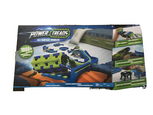 WOWWEE POWER TREADS ALL-SURFACE VEHICLES EXTREME TAKEOVER PACK 70+ PIECES BNIB