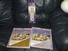 p3 Candle Making Magic Supply Kits Wax Honeycomb Silver/Gold and Stickers