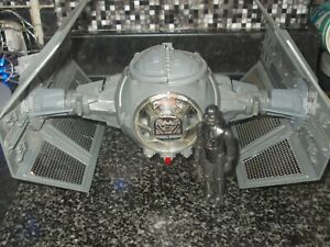 Vintage Star Wars Darth Vader's Tie Fighter + Figure