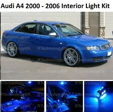 BLUE PREMIUM AUDI A4 S4 B6 2000 - 2006 LED INTERIOR UPGRADE KIT SET XENON