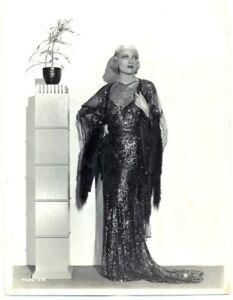 CAROLE LOMBARD original movie GLAMOUR photo 1930s