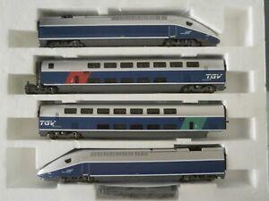 LIMA COLLECTION / MARKLIN HO 189903 AC coffret TGV Duplex n°220 SNCF casquette