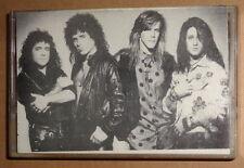 LIBERTY WILD - Rare Hard Rock Demo Cassette 1991 - 5 Tracks Peter Baron Signed.