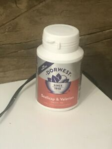 Dorwest Scullcap & Valerian Tablets For Dogs & Cats x100