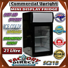 21lt Commercial Upright Small MINI Display Fridge Drink Beer Refrigerator