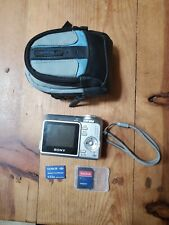 Sony Cybershot Camera DSC-S650 7.2MP w/ Case, Memory Card and Adapter Tested