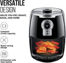 Chefman Turbofry 2 Liter Air Fryer Dishwasher Safe Basket &Use Little To No Oil