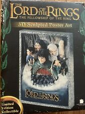 The Lord of the Rings The Fellowship of the Ring 3D Sculpted Poster Art 280/1500