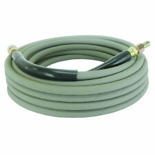 """BE 100-Foot (3/8"""") 4000 PSI Grey Non-Marking High Pressure Hose w/ Quick Conn..."""