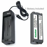 Kastar Battery and Normal Charger Kit for NB-CP1L CP2L Canon SELPHY CP910 800