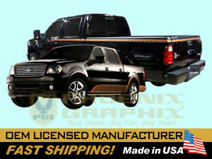 Compatible with 2008 Ford F150 Harley Davidson Edition Truck Decals Stripes