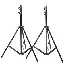 Neewer 2x 6.23Ft/190Cm Tripod Light Stands For Studio Kits,Lights,Softboxes