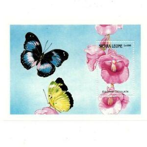 VINTAGE CLASSICS - Sierra Leone 1087 - Orchids - Souvenir Sheet -MNH