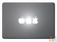 """Apfel angebissen für Apple Macbook 13"""" 15"""" Pro Air Sticker Aufkleber Skin"""