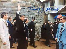 SIGNED  8X10 PHOTO Timothy McCarthy Secret Service.  Ronald Reagan