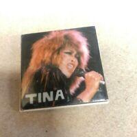 Tina Turner Vintage 80's Badge Button Pinback Pin 408 Promo Concert Music Album