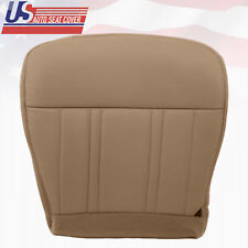 1997-1998 Ford F150 Extended-Cab Leather Driver Bottom Seat Cover Prairie Tan