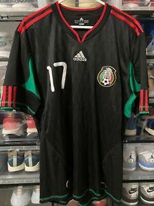 Adidas Mexico Gio Dos Santos away Jersey shirt world cup 2010   sz L mint
