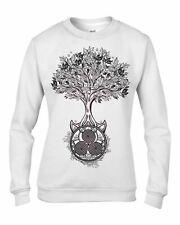 Celtic Spiral Tree of Life Women's Sweatshirt Jumper