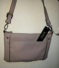 NWT NICOLE MILLER Cross Body Handbag Purse in Lavender / Grey - Style #NY3616